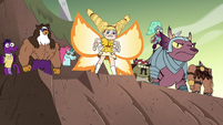 S4E33 Star and friends at the top of the hill