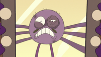S2E22 Spider With a Top Hat shouting at his reflection