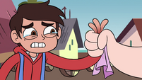 S4E2 Marco crying tears of finger pain