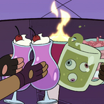 S4E22 Marco and friends clink their drinks.png