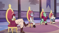 S3E10 Royal princes sitting in their seats