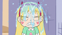 S3E11 Star Butterfly getting showered with water