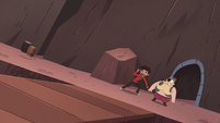 S4E2 Marco and River leading the way out
