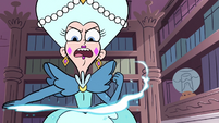 S3E27 Queen Butterfly casting magic