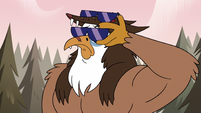 S3E38 Talon puts shades over his teary eyes