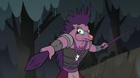 S2E12 Porcupine monster wielding spine swords
