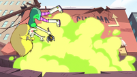 S2E14 Star Butterfly blown away by Ludo's magic