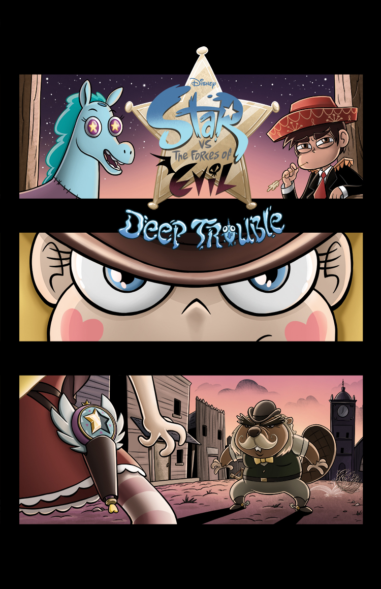 EvanLee2007/The 7th Issue of SVTFOE Deep Trouble would've been a western