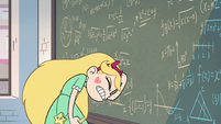 S2E32 Star Butterfly pounding herself on the head