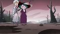 S3E36 Moon and Eclipsa following Eddie
