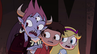 S4E13 Tom, Star, and Marco looking behind
