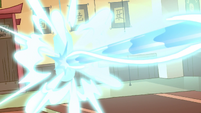 S1E5 Magic beam hits punching bag