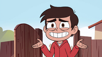 S4E29 Marco shrugs his arms in confusion