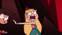 S1E9 Star pushes Marco out of the way