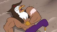 S4E33 Talon Raventalon with a magic scar