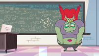 S2E32 Miss Skullnick angry at Star Butterfly