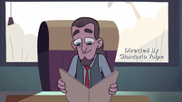S2E3 Mr. Candle looking at Star's file