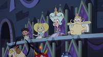 S2E40 Star, Marco, Moon, and River see the show begin