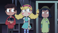 S4E11 Star and Marco looking at Janna