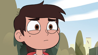 S4E30 Marco Diaz looking at Star Butterfly