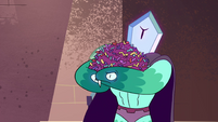 S4E35 Rhombulus with an armful of confetti