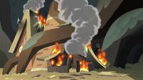 S2E8 Porridge tavern in flames