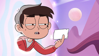 S4E12 Marco looks at directions to Kelly's house