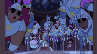 S3E38 Dozens of soulless bodies in the castle