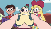 S4E2 Star and Marco shocked by River's actions