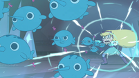 S4E4 Star launching narwhals at Rhombulus