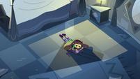 S2E28 Star starts writing in her notebook of spells