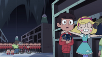 S4E11 Star leads her friends out of the storeroom
