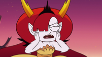 S3E22 Hekapoo can't resist Marco's adult voice