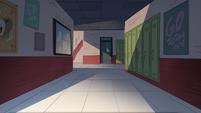 School Spirit background - Echo Creek Academy dim hallway