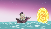 S3E22 Seabunny ship returns to Seabunny Dimension