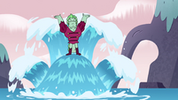 S4E19 Larry Kelpbottom rises out of the water