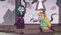 S3E11 Star pointing her wand at Eclipsa