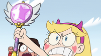 S2E14 Star Butterfly takes out her magic wand