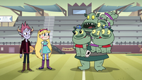 S4E25 Buff Frog 'watch out for Star on this trip'