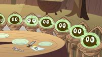 S2E12 Tadpoles looking at Buff Frog 2
