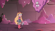 S3E14 Star Butterfly encounters the lint monster