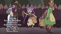 S4E35 Young Mina Loveberry peddling rags