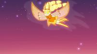 S3E22 Star Butterfly fluttering through the sky