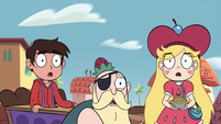 S4E2 Star, Marco, and River slack-jawed