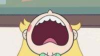 S2E32 Star Butterfly groaning loudly with frustration
