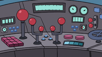 S3E20 Giant legs' complicated control panel
