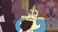 S3E8 King Butterfly holding Marco close to his chest