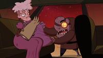 S2E36 Gemini fluffing Miss Heinous' pillow