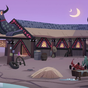 S4E22 Exterior view of Dragon Spit tavern.png