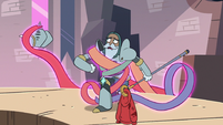 S3E8 Tentacles wrapping around Sir Lavabo